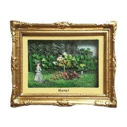 Magnet 3D Painting - Monet, Garden<br>