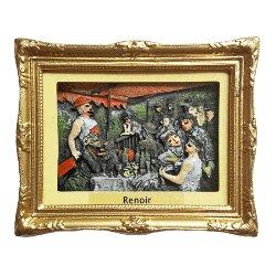 Magnet 3D Painting - Renoir, Canotiers<br>