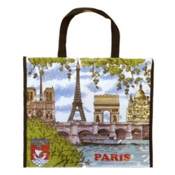 French Tote Bag - Paris Monuments<br>
