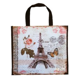 French Tote Bag - Eiffel Tower