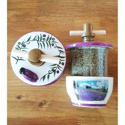 Provence Herbs Grinder - Lavender Field<br>