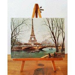 Paris Mini Easel - Eiffel Tower