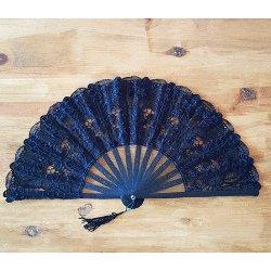 Decorative Fan - Black