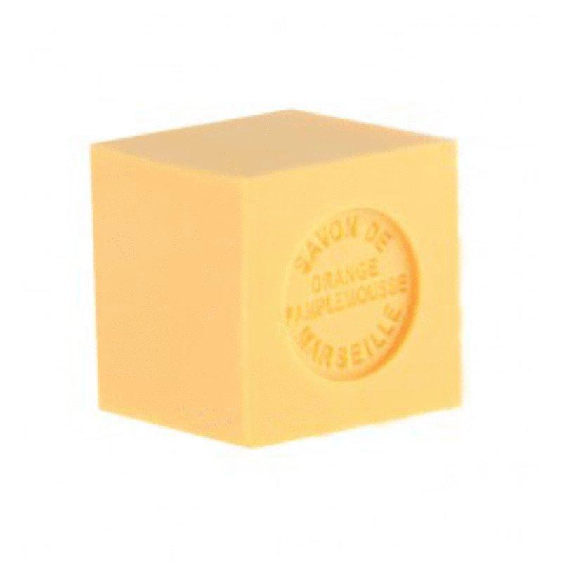 Mini Marseille Soap - Orange/Grapefruit<br>