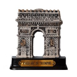Arch of Triumph Resin Magnet