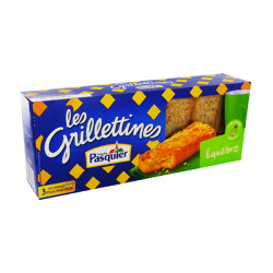 French Grillettines Toasts - Balance