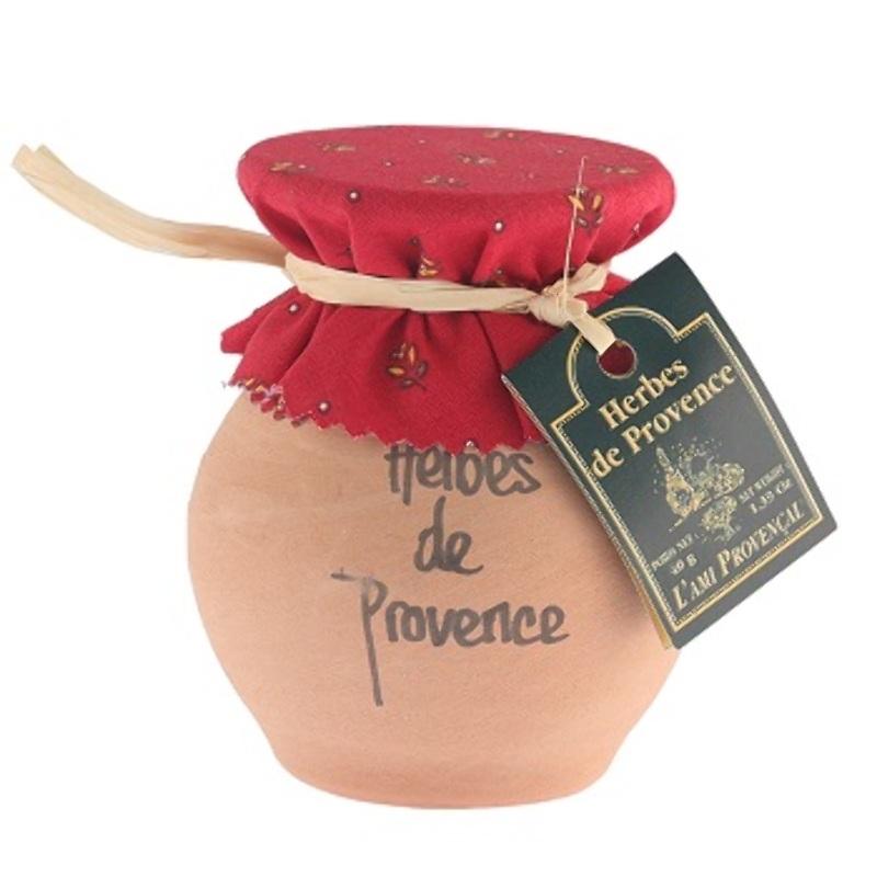 Herbs de Provence in Crock Jar
