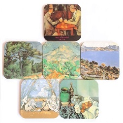 French Coasters - Cezanne