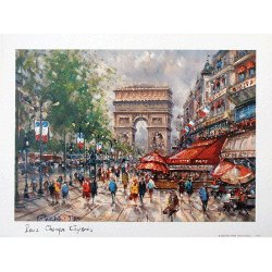 Paris Print - Champs Elysees
