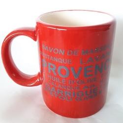 Provence Mug - Red<br>