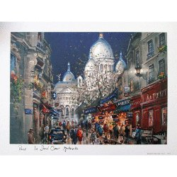 Paris Print - Sacre Coeur