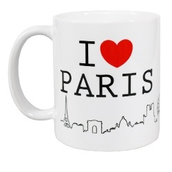 French Mug - I Love Paris