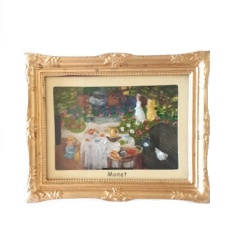 Magnet 3D Painting - Monet, Lunch<br>