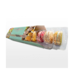 French Macarons- 6 pieces -The Classic Collection - Golden Gate