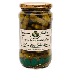 French Cornichons by the Case - 12 Jars