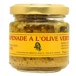 Tapenade - Green Olive Spread by the Case - 12 Jars