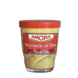 Amora Mustard de Dijon by the Case - 12 Jars