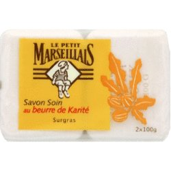 Le Petit Marseillais Shea Butter Soap - Pack of 2