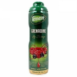 Teisseire Grenadine Syrup by the Case - 6 bottles