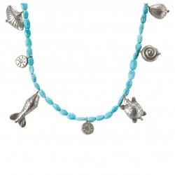 Mer Turquoise - Thai silver...