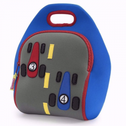 Race Car Kid's Lunch Bag