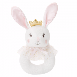 Bella Bunny Ring Rattle