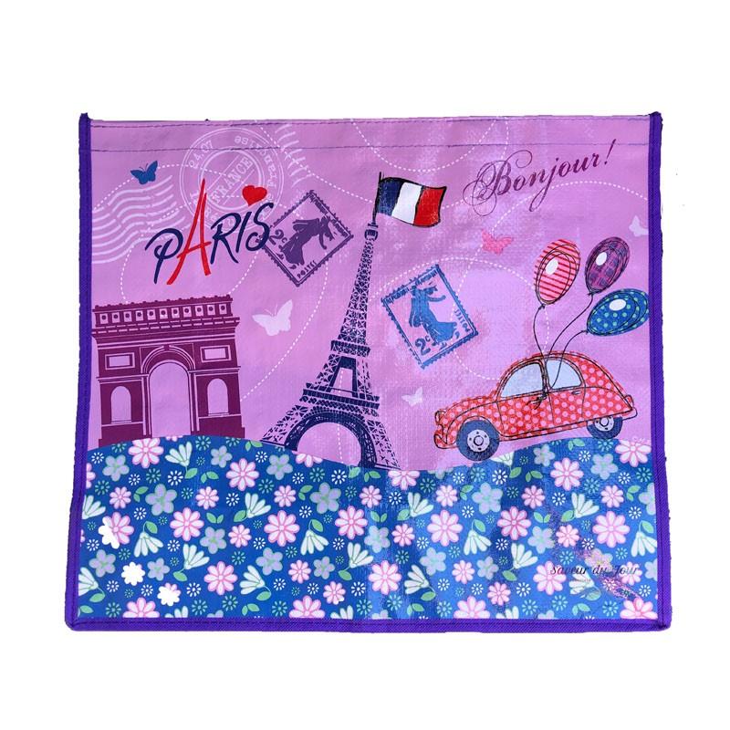 French Tote Bag Paris 2CV Citroen