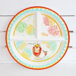 Lion Melamine Set for Baby...