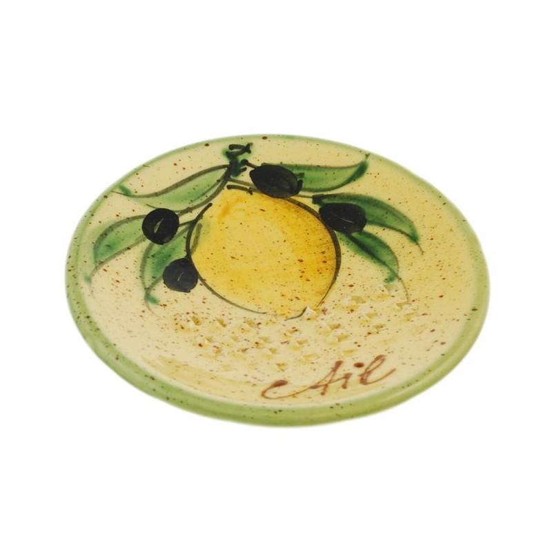 Lemon Ceramic Garlic Grater