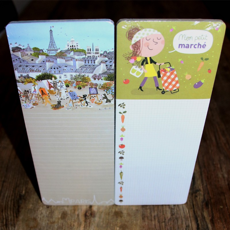 French Magnetic Notepad