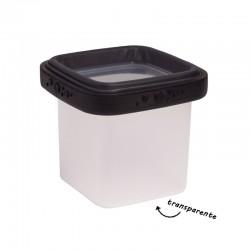 Lucie Black BOX - Lightweight Food Storage Container