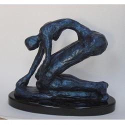 Reaching - Bronze Sculpture