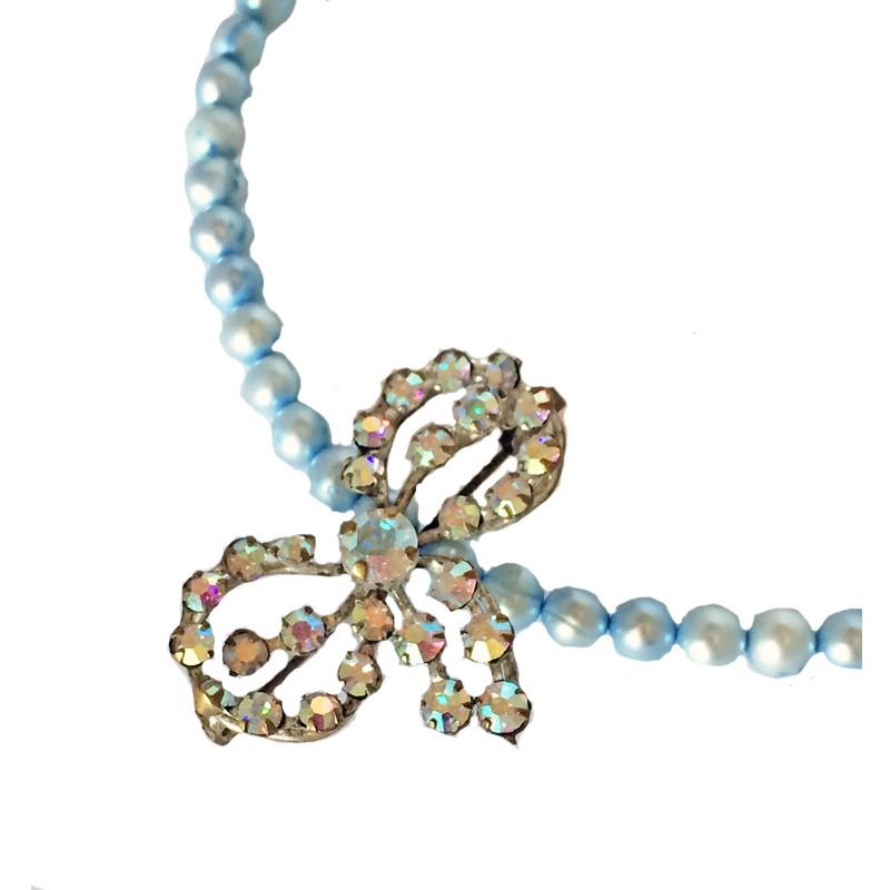 GANSE BRILLANTE - Vintage French Brooch Necklace