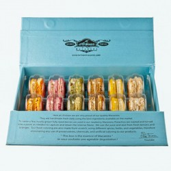 French Macarons - Blue Box...