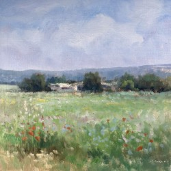 Provence Oil Painting -...