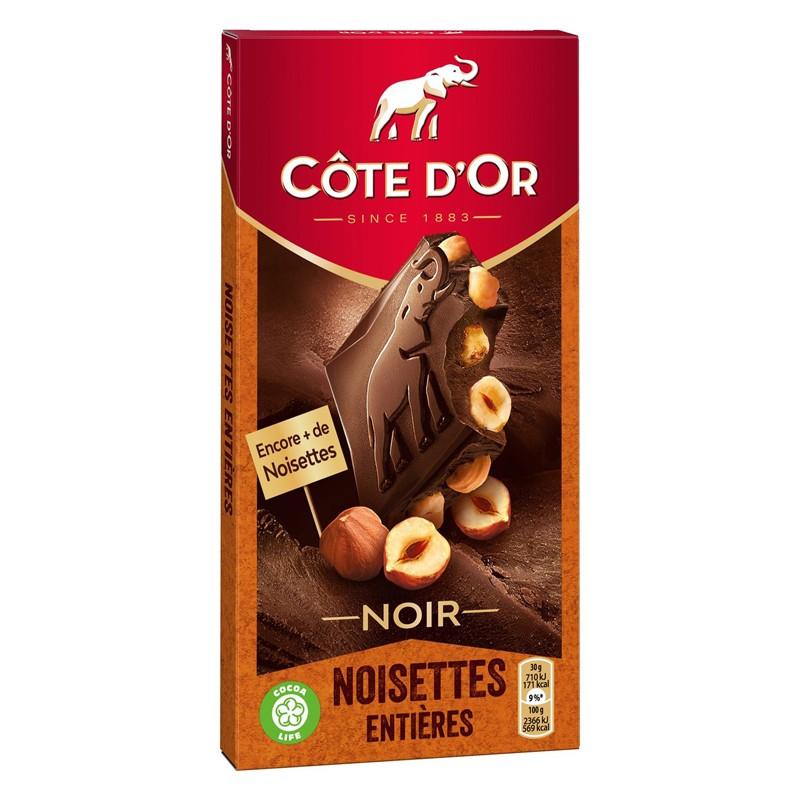 Cote d'Or Dark Chocolate w/ Whole Hazelnuts