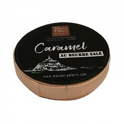 Salted Butter Caramels in Camembert Style Box
