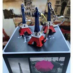 Eiffel Tower Key Ring -...