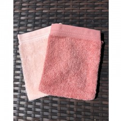 French Pocket Washcloth - Assorted Pink