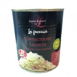 French Sauerkraut - Choucroute aux Lardons