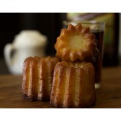 French Canneles Cakes de Bordeaux - 6 Count