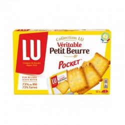 Lu Petit Beurre - 12 Individual Pockets