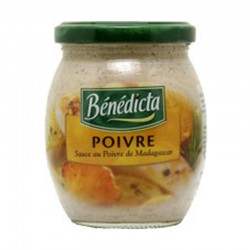 Benedicta Gourmet Black Peppercorn Sauce