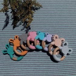 Baby - Silicone Wood Ring Teether