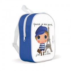 Kids backpack - I will go...