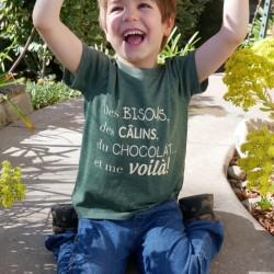 Kids Organic Green T-shirt...