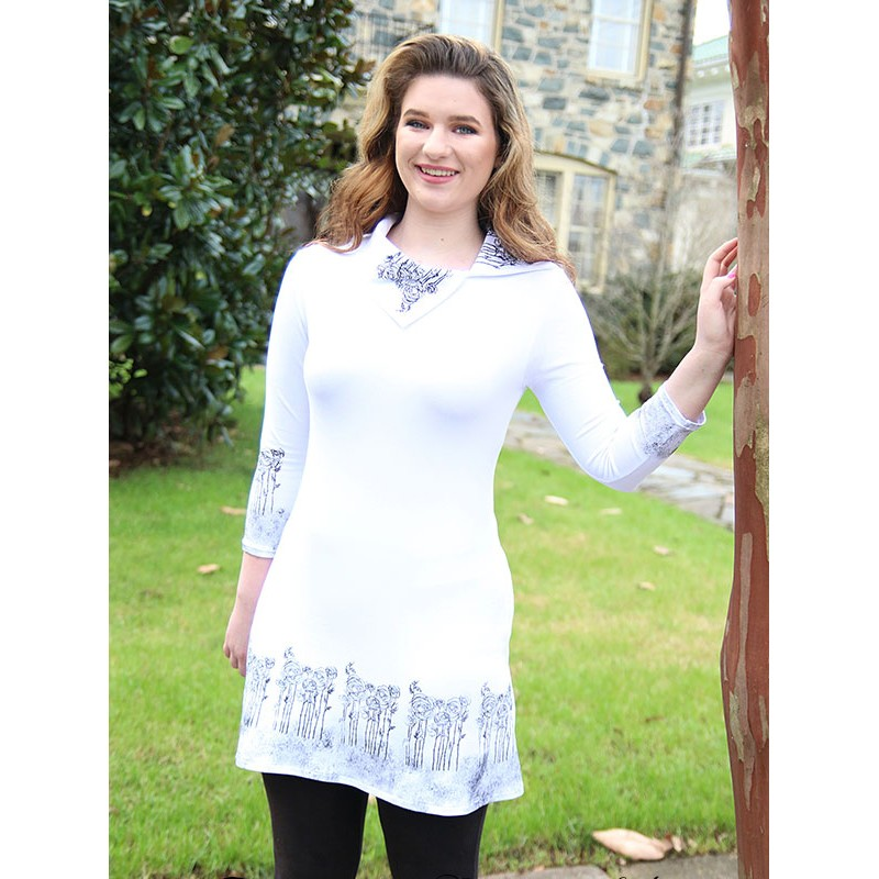 Modern Elegance tunic - Woman