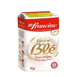 Wheat Pastry Flour Type 45 - Francine