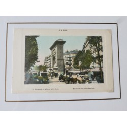 Paris Souvenir Print - Saint Denis