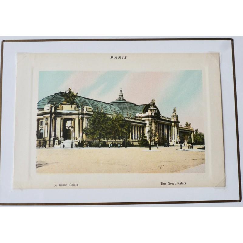 Paris Souvenir Print - Grand Palais